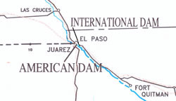 Upper Rio Grande Diversion Dam Locations